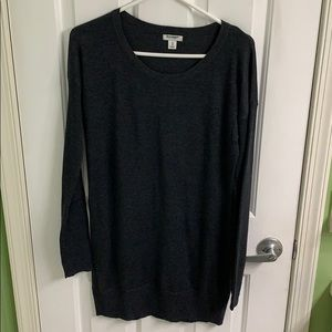 Dark charcoal gray sweater from Old Navy size M